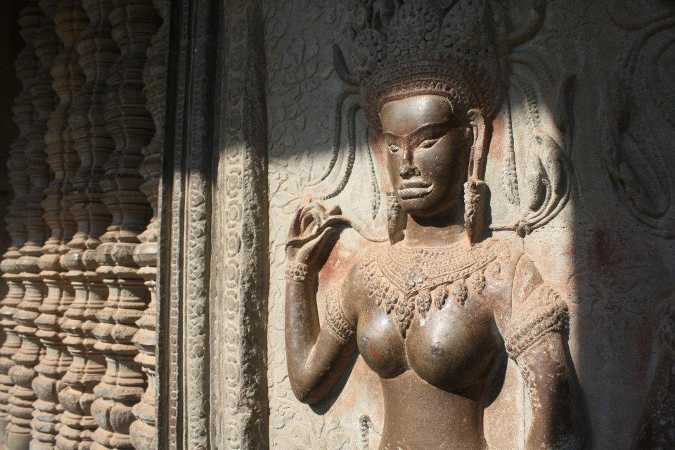 Apsara Detail at Angkor Wat